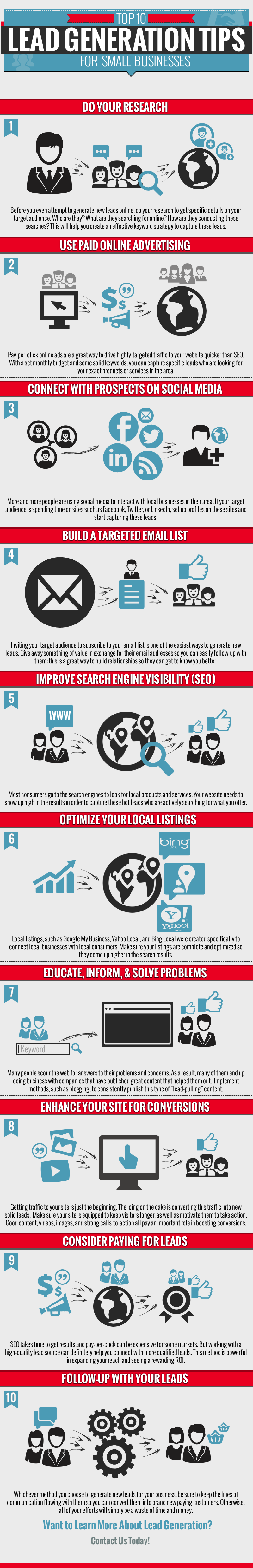 Lead Generation Tips for Small Businesses