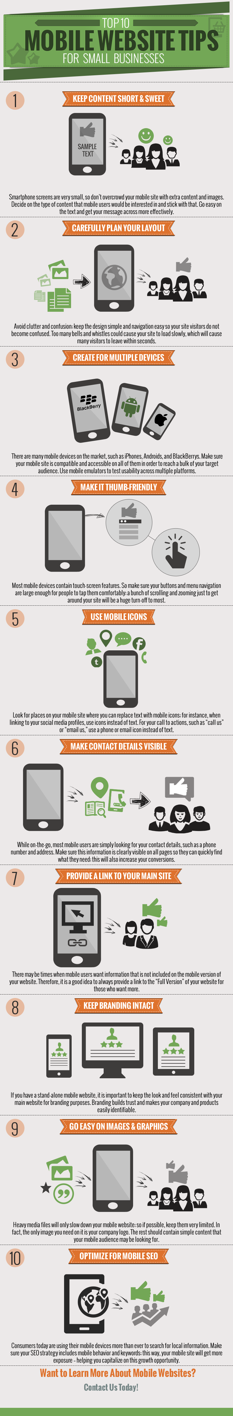 Mobile Website Tips for Small Businesses